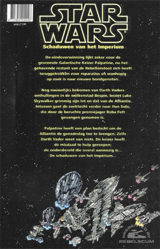 Schaduwen van het Imperium (Back Cover)