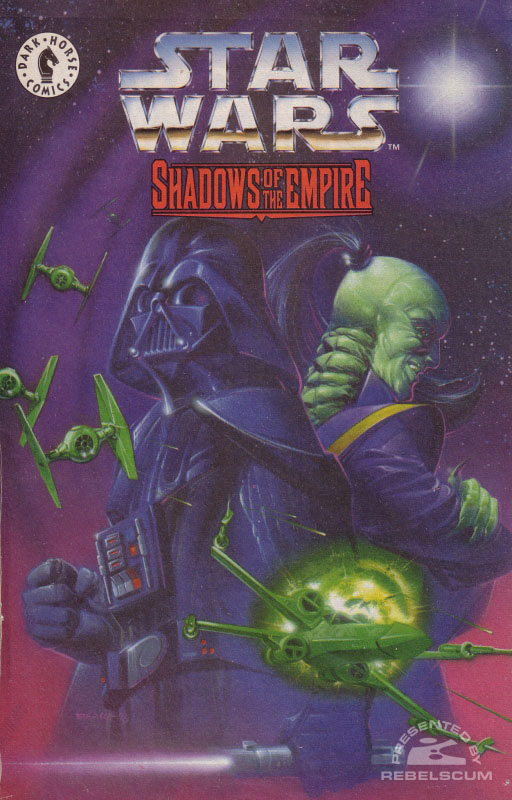 Shadows of the Empire Kenner Bonus Comic 2 (Darth Vader vs Prince Xizor) UK Edition