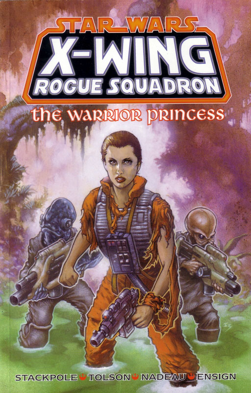 X-Wing Rogue Squadron - The Warrior Princess (UK Edition)