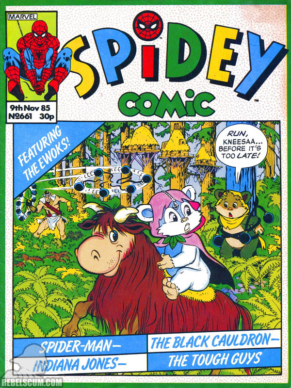 Spidey Comic #661 (Ewoks reprints)