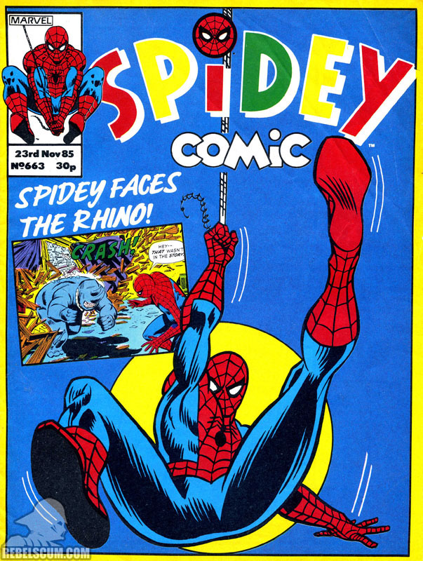 Spidey Comic #663 (Ewoks reprints)