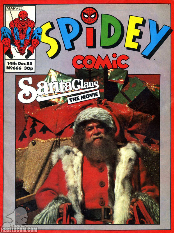 Spidey Comic #666 (Ewoks reprints)