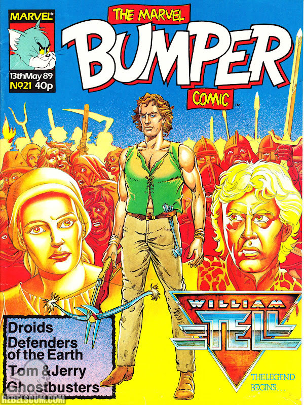 Marvel Bumper Comic #21