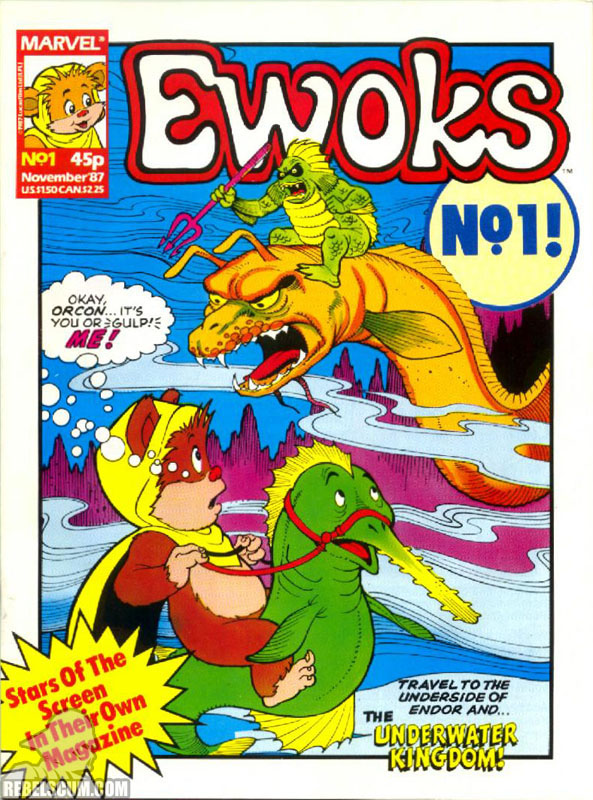 Ewoks Monthly #1