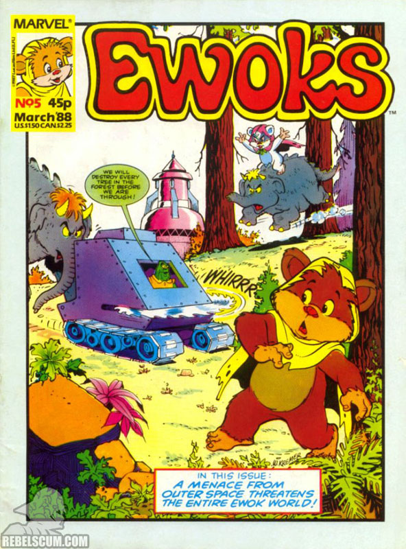 Ewoks Monthly #5