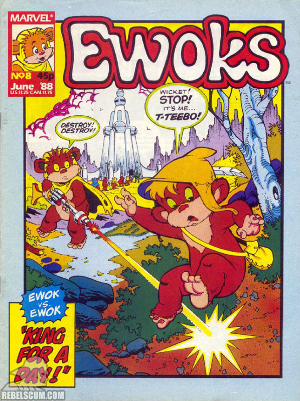 Ewoks Monthly #8