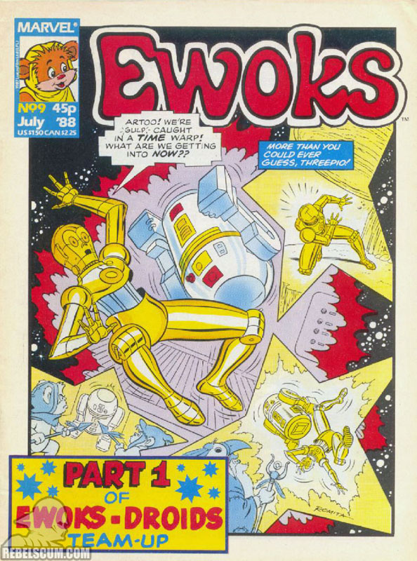 Ewoks Monthly #9