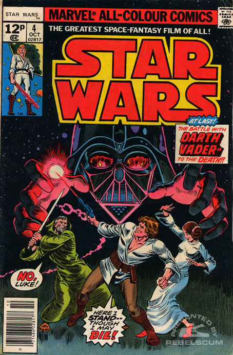 Star Wars (Marvel) 4 (UK Edition)