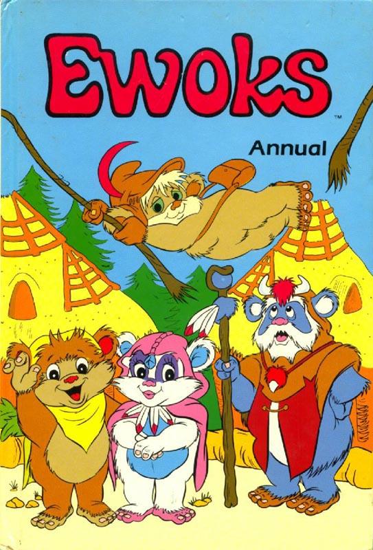 Star Wars Ewoks Annual 1988 (Marvel UK)