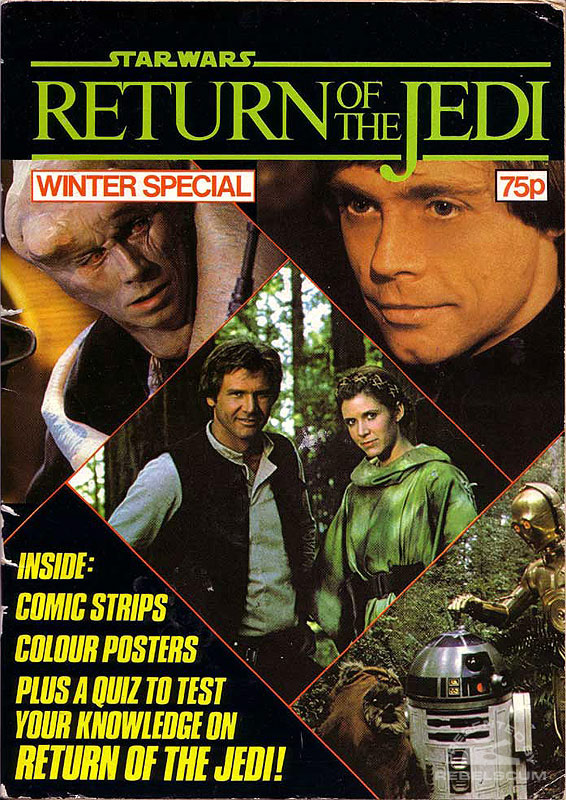 Star Wars: Return of the Jedi 1983 Winter Special