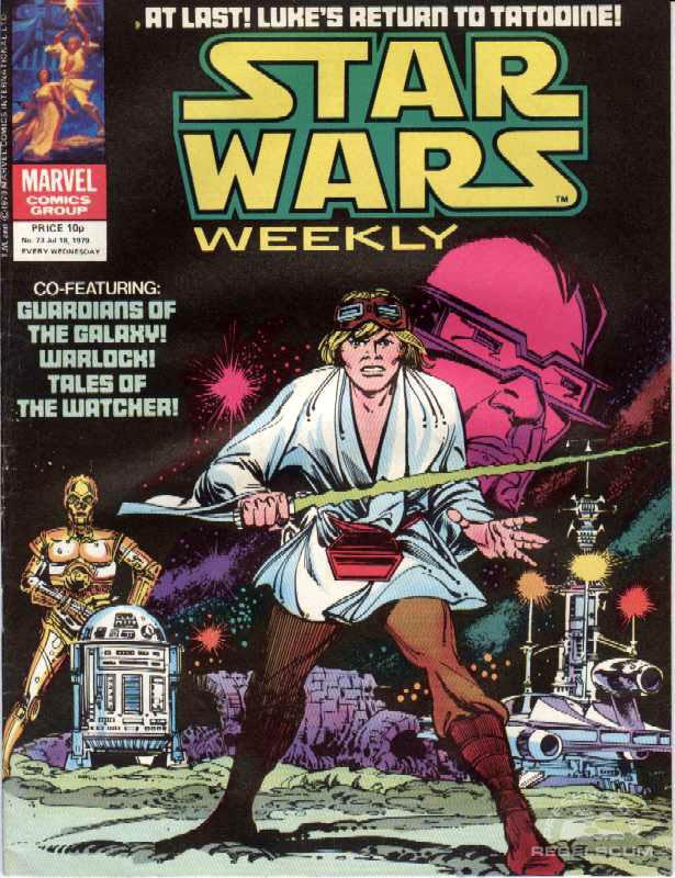 Star Wars Weekly #73