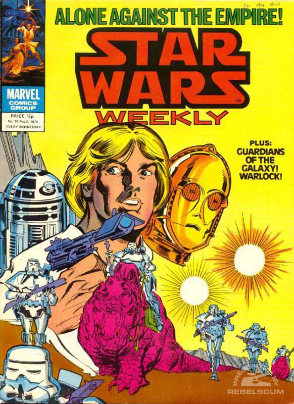 Star Wars Weekly #76