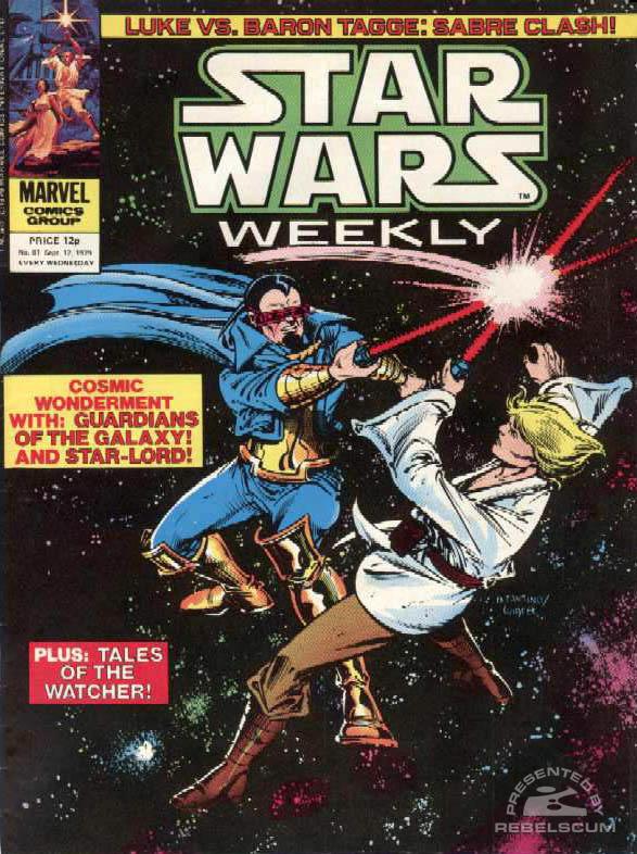 Star Wars Weekly #81