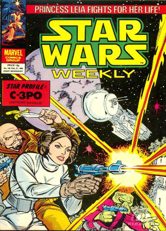 Star Wars Weekly #105