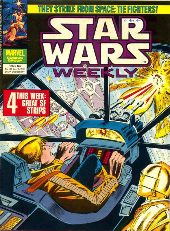 Star Wars Weekly #108