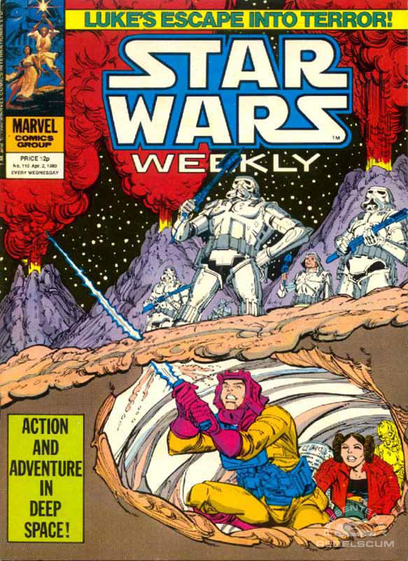Star Wars Weekly #110