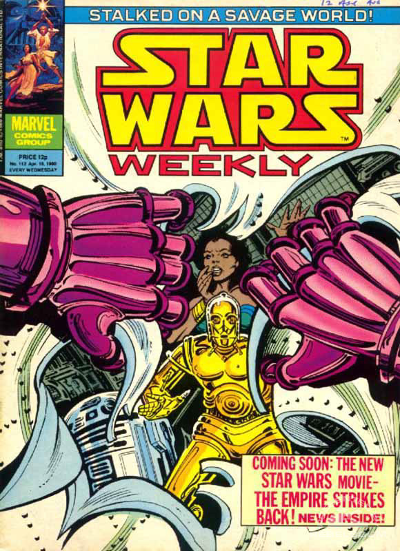 Star Wars Weekly #112