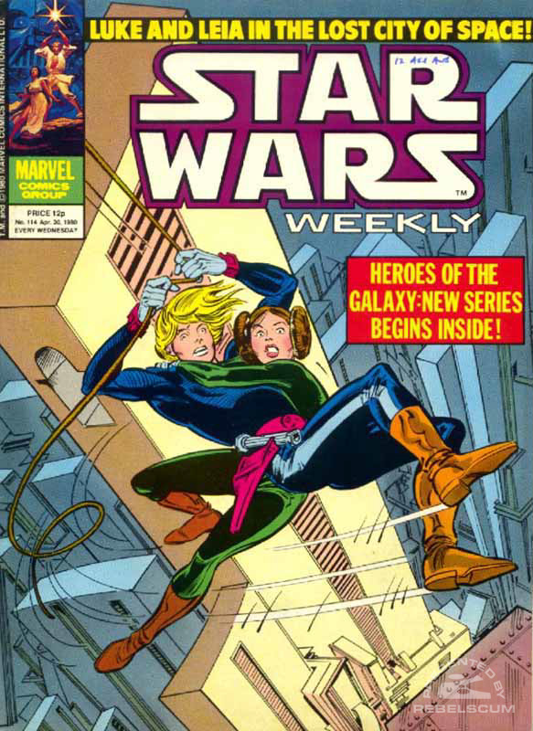 Star Wars Weekly #114