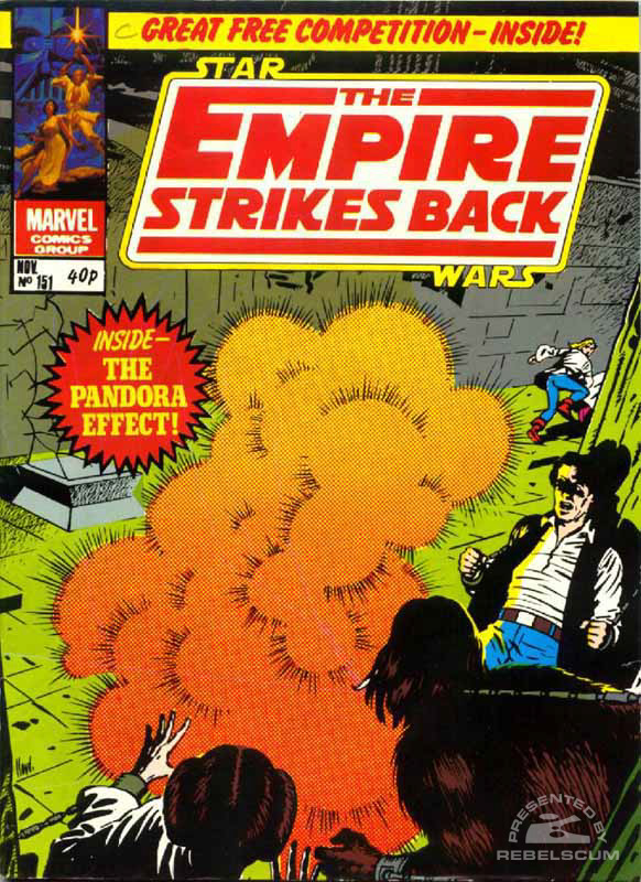 The Empire Strikes Back Monthly #151