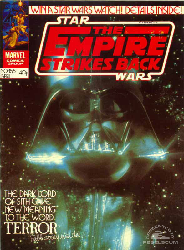 The Empire Strikes Back Monthly #155