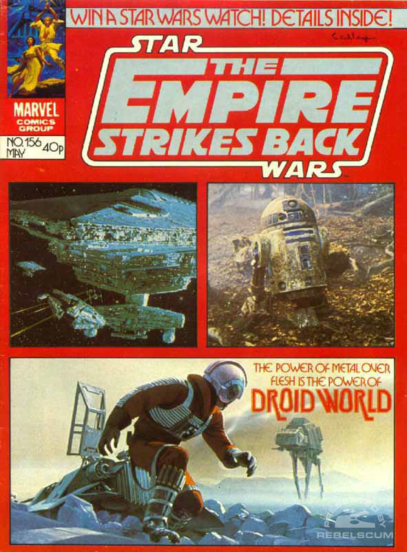 The Empire Strikes Back Monthly #156