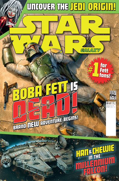 Star Wars Galaxy #22