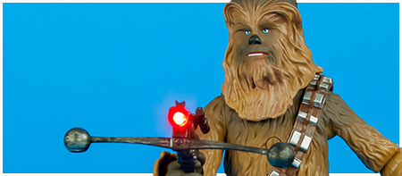 Disney Store Exclusive Talking Chewbacca Action Figure