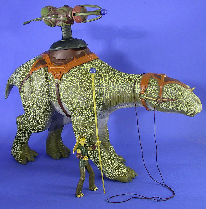 Gungan Assault Cannon mounted on a Fambaa