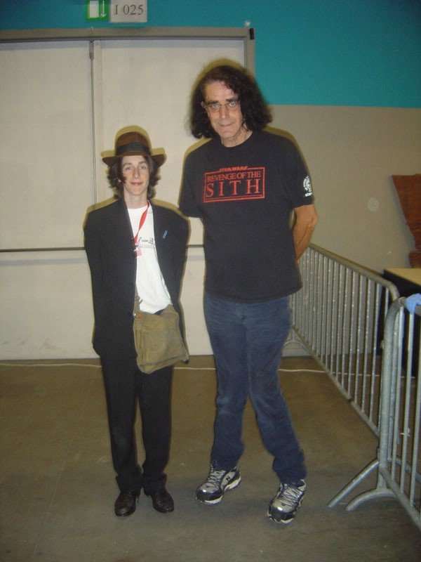 Me and Peter Mayhew