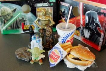 Rebelscum Com Star Wars Fever Heats Up At Burger King
