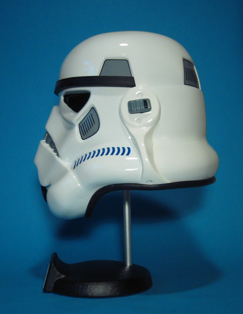Shepperton Design Studios Stunt Trooper Helmet - Left