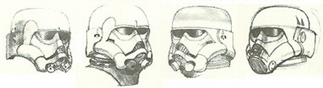 Collection of McQuarrie Concept Sketches