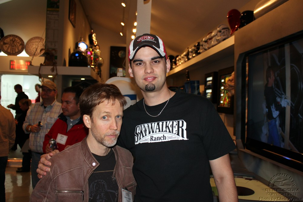 James Arnold Taylor and Chris Wyman