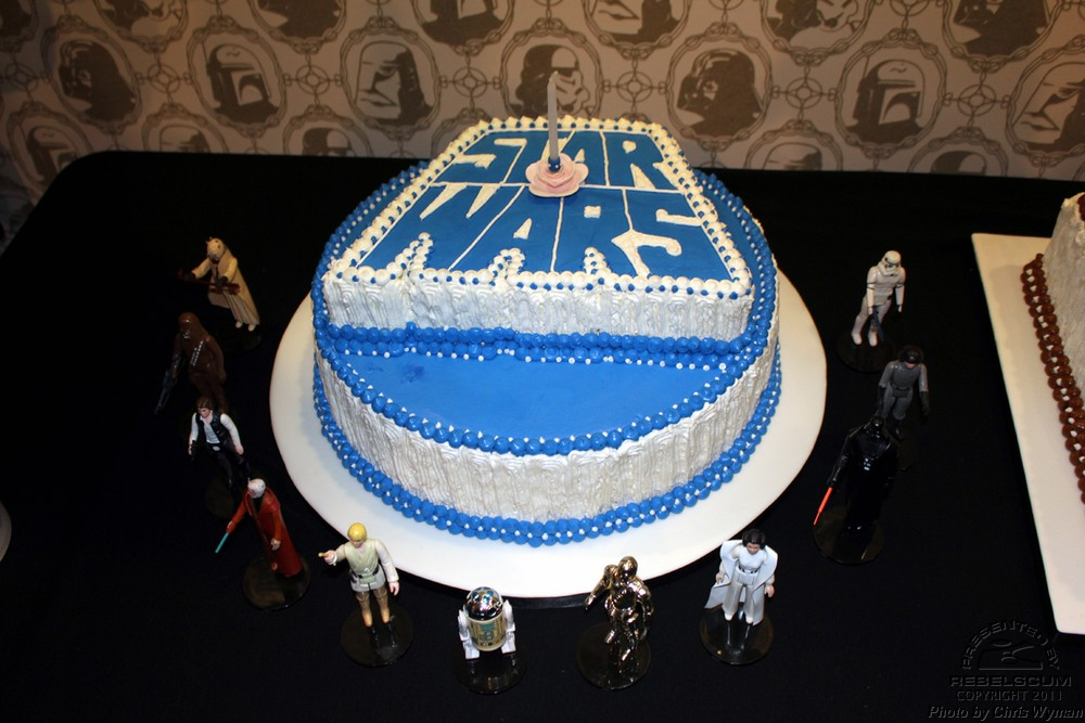 Star Wars 1 Year Anniversary Cake