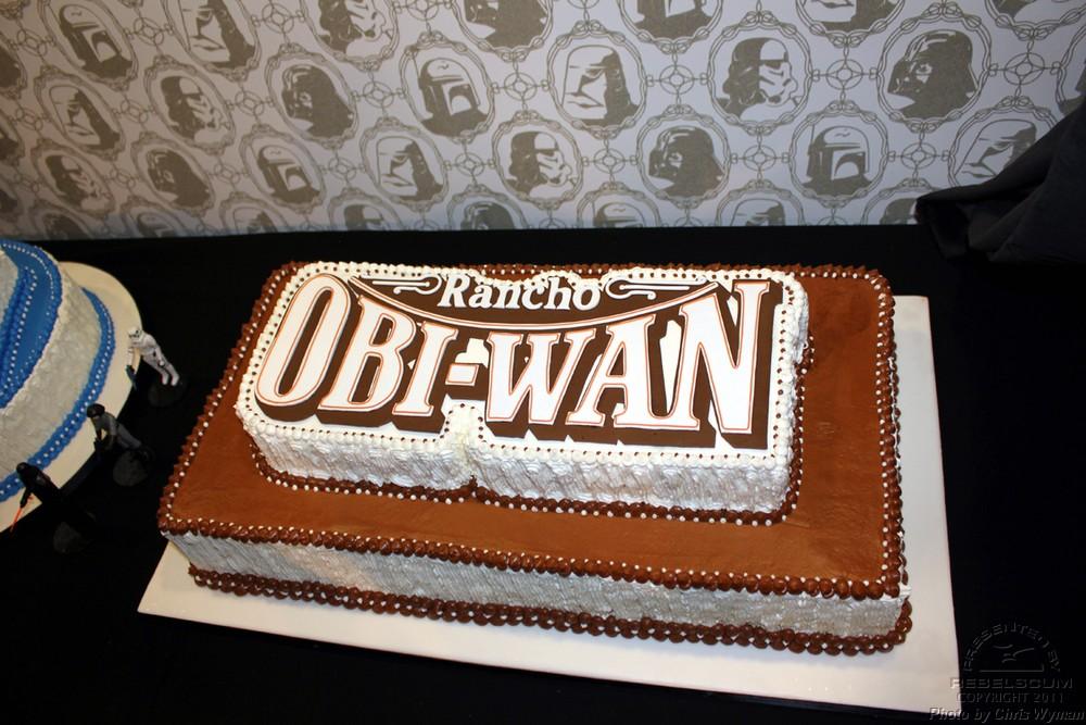 Rancho Obi-Wan Logo Cake