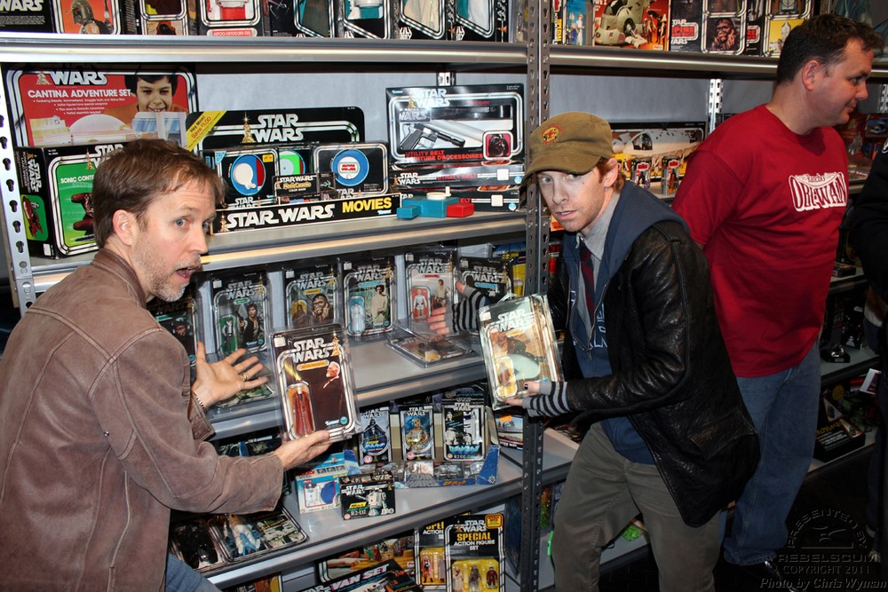 James Arnold Taylor and Seth Green