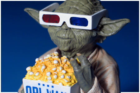 6e4197f94072 YODA WITH 3D GLASSES Star Wars WonderCon 2012 Exclusive Mini Bust