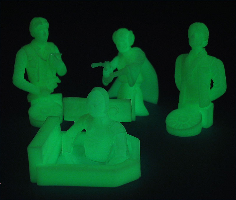 Spirit of the Rebellion 2004 Convention Exclusive Bust-Ups (Glow-in-the-Dark Variant)