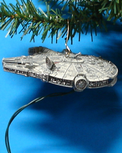 Millenium Falcon Star Wars Hallmark keepsake ornament