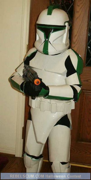 Abraham as a Clone Trooper