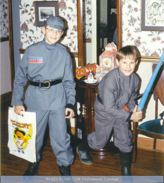 Calwyn and Davin as  Imperial
