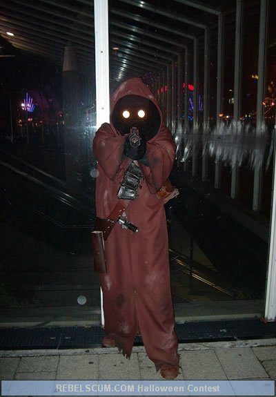 Gaetan Brunet Moret as a Jawa