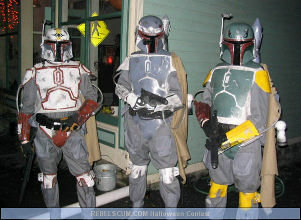 Jaf Farkas- Mark Miller -Shane Pitkin as Mandalorian Commandos