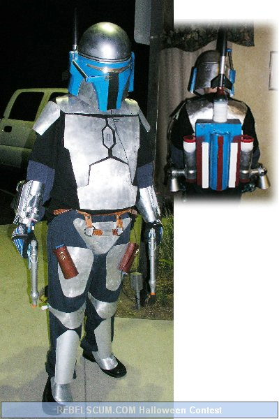 Monty as Jango Fett