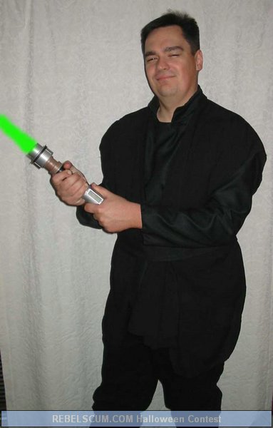 Paul Hruby as a Jedi Knight