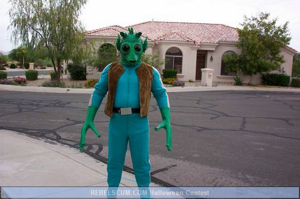 Randy Johnson as Greedo