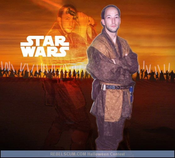 Scott Eckelberry as a Jedi