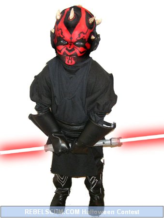Asher as Darth Maul