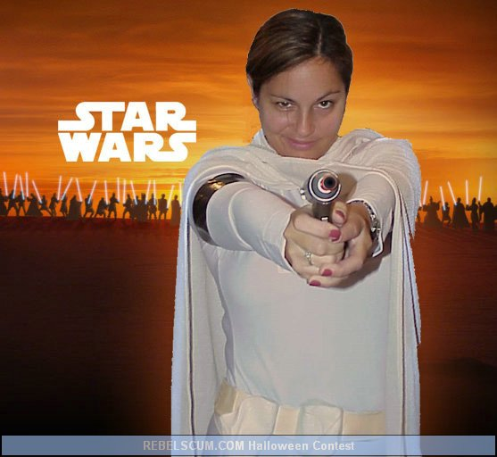 Christina as Padme