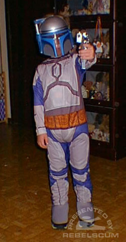Christopher as Jango Fett